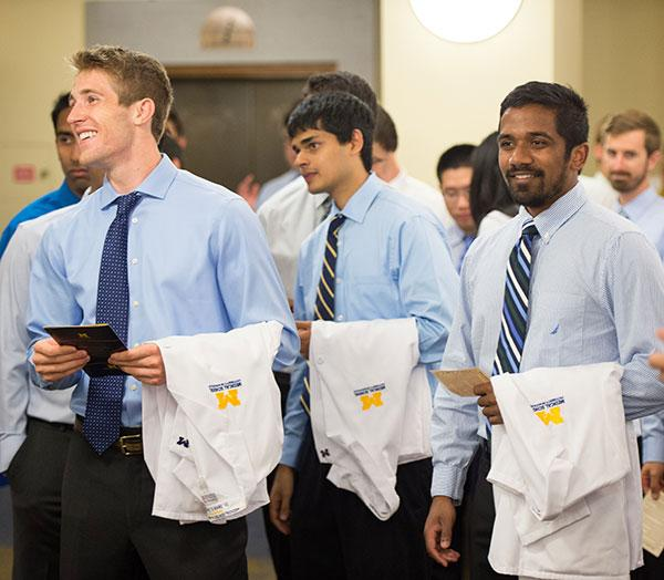 White Coat Ceremony | University of Michigan Medical School Alumni